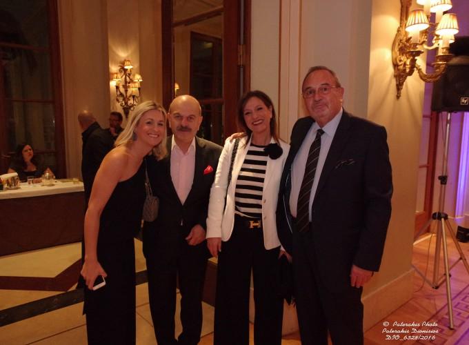 Η κα Χριστίνα Μπεζαντάκου, Γεν. Έφορος ΗΑΤΤΑ & Πρόεδρος της KEFI TOURS SA, o κ. Λ. Τσιλίδης, Πρόεδρος FEDHATTA, η κα Ρούλα Σαλούτση, Διευθύντρια Δημόσιων Σχέσεων & Τύπου Aegean Airlines και ο κ. Στάθης Σκρέτας, Γεν. Γραμμ. FEDHATTA