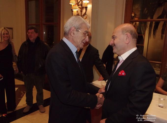 Ο κ. Γιάννης Μπουτάρης, Δημ. Θεσσαλονίκης με τον κ. Λ. Τσιλίδη