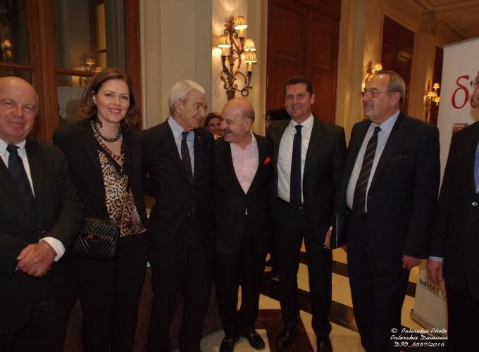 O κ. Νίκος Βερνίκος, η κα Δ. Αμαραντίδου, ο κ. Γ. Μπουτάρης, ο κ. Λ. Τσιλίδης, ο κ. Μ. Μαυρόπουλος, ο κ. Στ.Σκρέτας και ο κ. Β. Κοντός