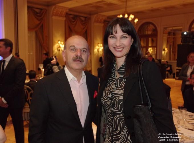 Ο κ. Λ. Τσιλίδης με την Υπ. Τουρισμού κα Ε. Κουντουρά