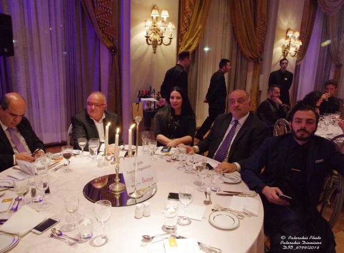 Ο κ. Γιάννης Μαρωνίτης, Πρόεδρος Ομίλου Unesco Πειραιώς & Νήσων, o κ. Ρίζος, Zorpidis Travel, o κ. Μιχ. Ζορπίδης, Πρόεδρος Επαγγ. Επιμελ. Θεσσαλονίκης, ο κ. Κ. Μητσόπουλος, Zorpidis Travel Athens