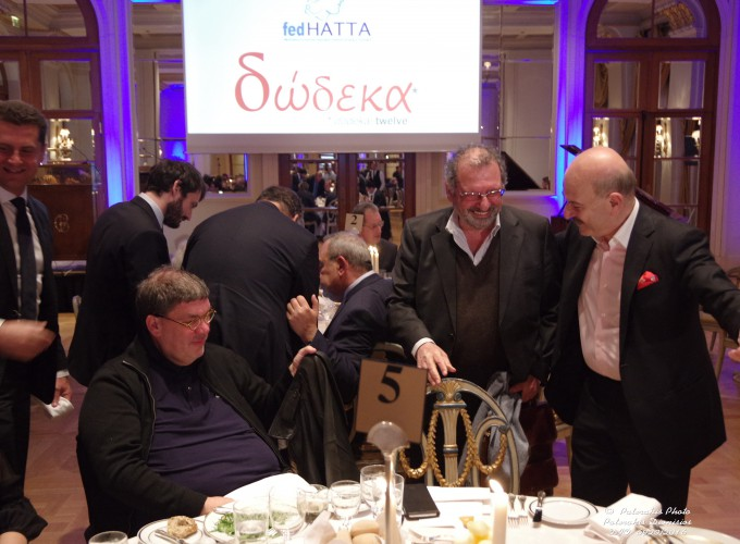 Ο κ. Θανάσης Λάλας, ο κ. Noel Josephides και ο κ. Λ. Τσιλίδης