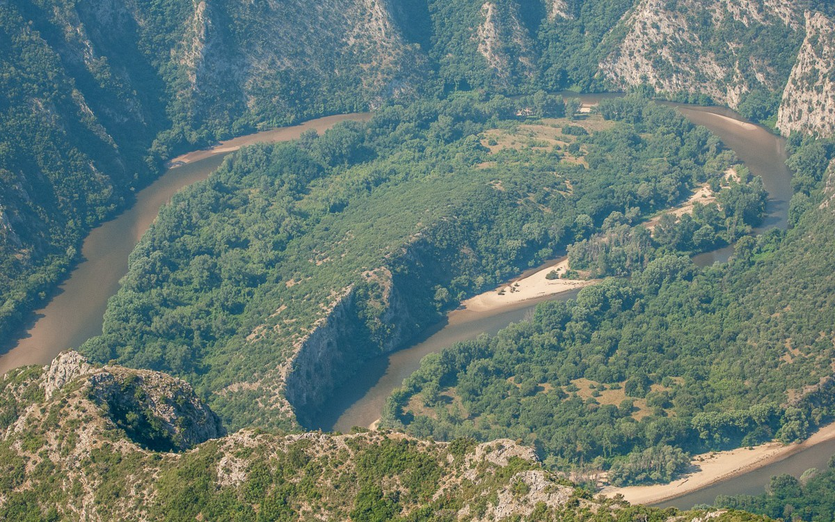 Aesthetic Forest Of Strait Of Nestos River Dodeka Travel